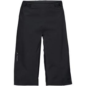 VAUDE Moab Pantaloncini da pioggia Uomo, black